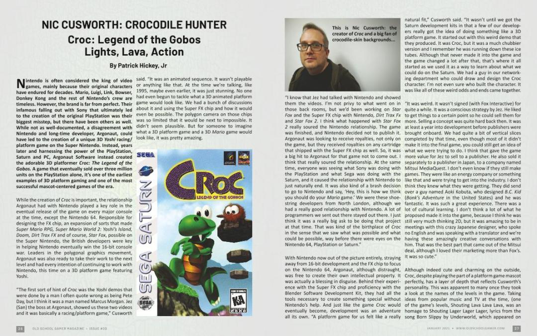 Crocodile Hunter : Lights, Lava, Action – by Patrick Hickey, Jr.