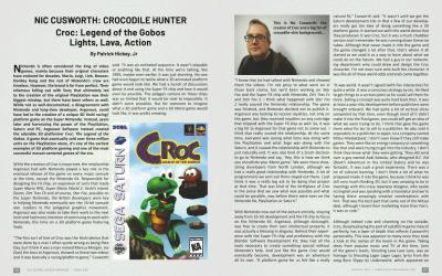 Crocodile Hunter : Lights, Lava, Action – by Patrick Hickey, Jr.