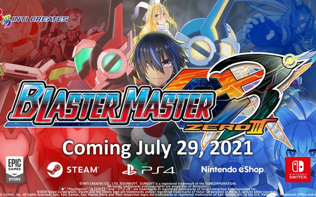 Blaster Master Zero 3 Announcement Trailer