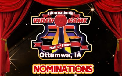 """Nomination forms """"Now Live"""" for the International Video Game Hall of Fame – Class of 2021"""