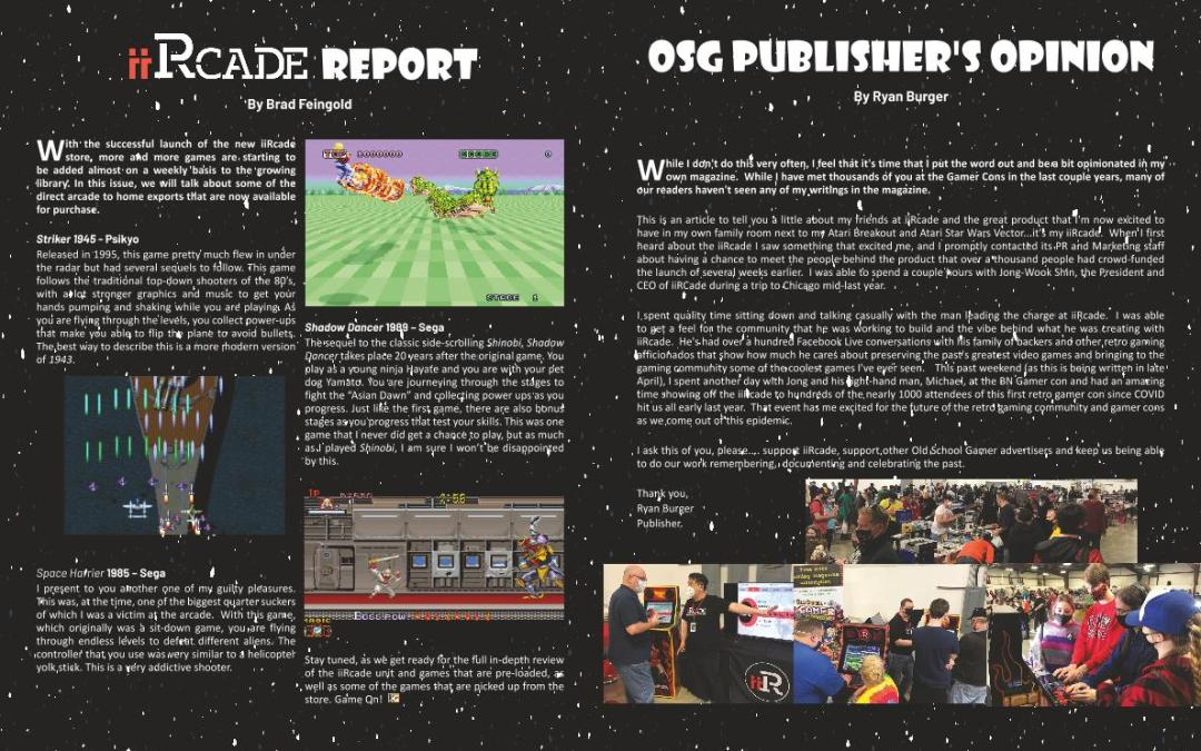 iiRcade Report – by Brad Feingold