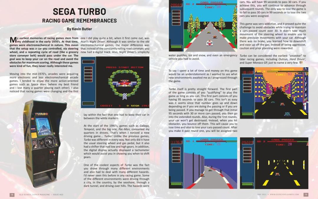 Sega Turbo – by Kevin Butler