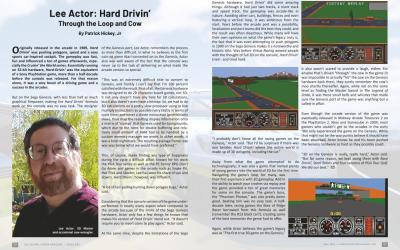 Lee Actor: Hard Drivin' – by Patrick Hickey, Jr.
