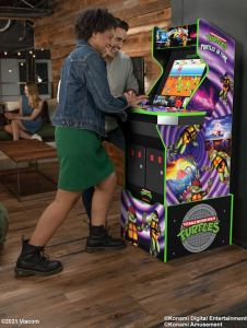 E3 2021 Arcade1Up (Coming Soon) – Turtles in Time™ Home Arcade Machine