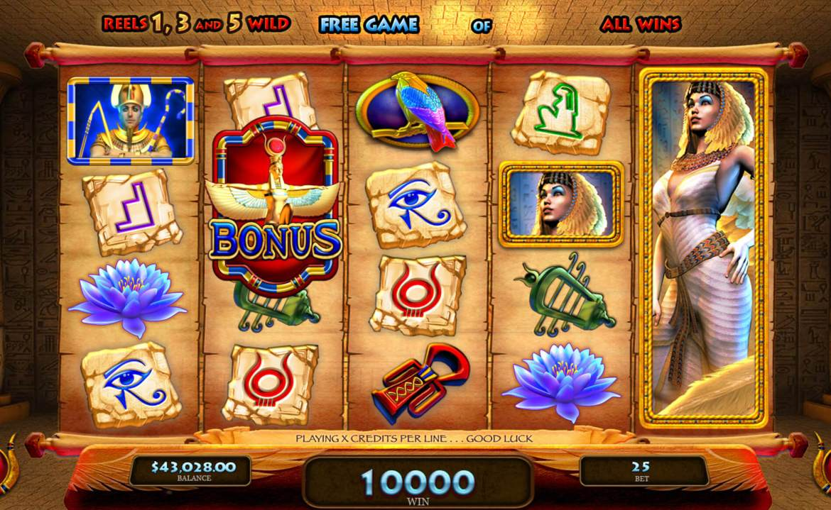 Magic of Isis - Free Spins