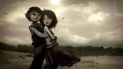 Cortometraje de animación A SHORT LOVE STORY IN STOP MOTION