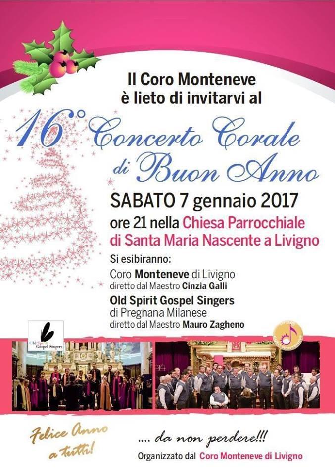 16° Concerto Corale di Buon Anno a Livigno