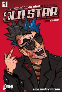 old star comic - grapa volumen 1 - jota garcia - unbrained comics
