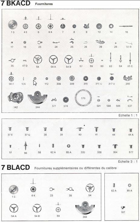 Bulova 7BKACD 7BLACD