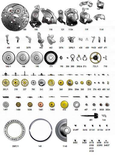 SELLITA SW290 1 watch spare parts