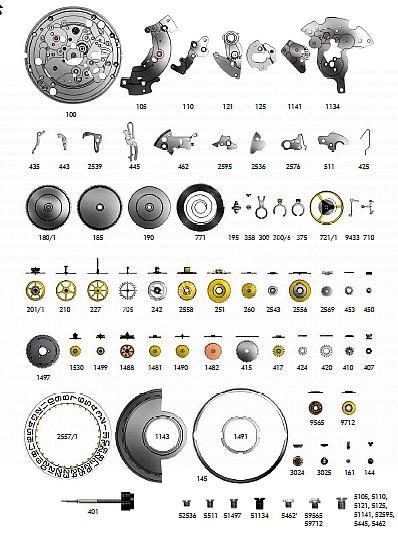 SELLITA SW330 1 watch spare parts