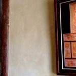 Shaxi lodge room art at Old Theatre Inn - Shaxi Yunnan China