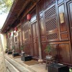 Shaxi guestrooms at Old Theatre Inn, Yunnan China