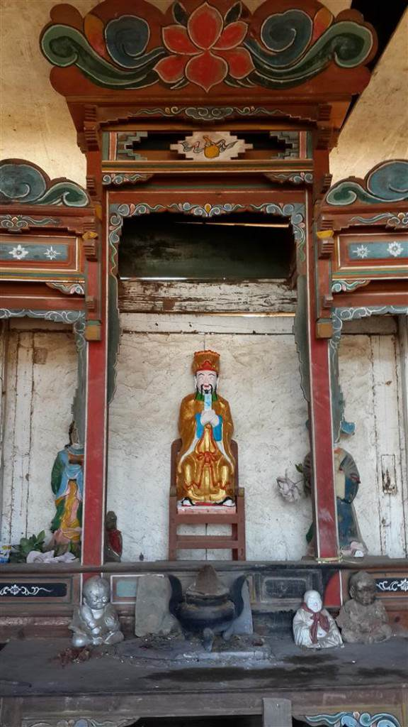 Shaxi village temple Jade Emperor - Shaxi Yunnan China