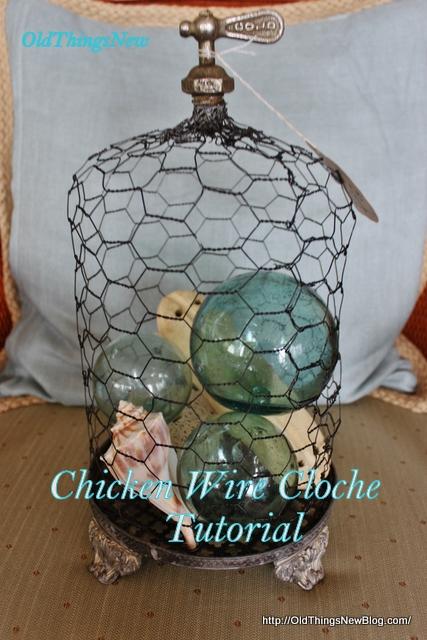 1-Chicken wire cloches 001