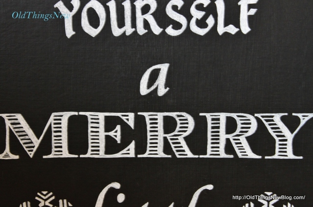 5-Have Yourself A Merry Little Christmas sign 006