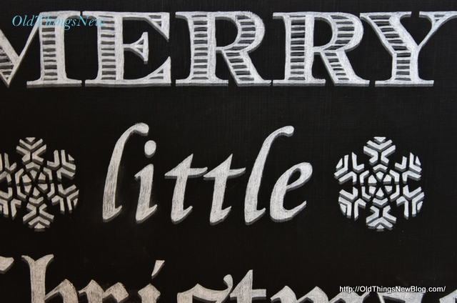 6 Have Yourself A Merry Little Christmas Sign 007