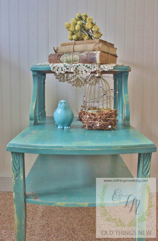MMS Vintage Side Table 007