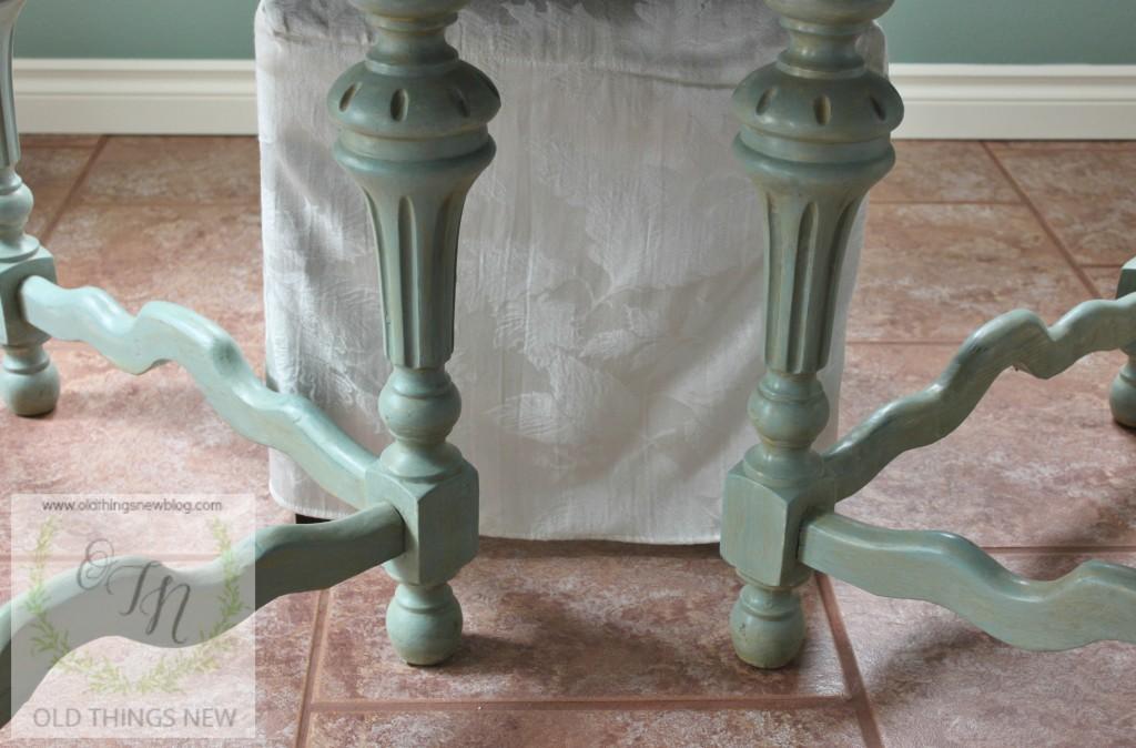 Vintage Kitchen Table (fold-in leaf) 020