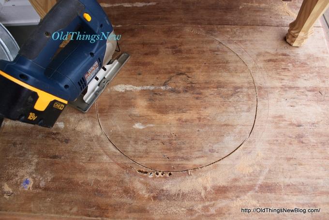 04-Drop Leaf Potting Bench 004