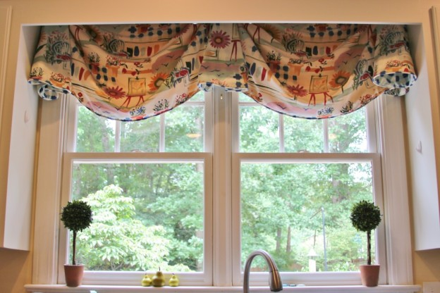 Cute Kitchen Drapes
