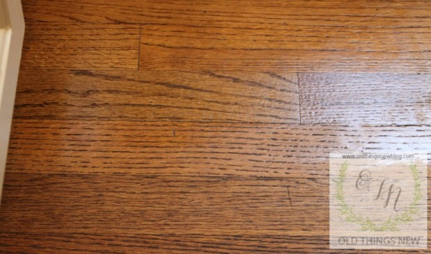 Cleaning Dirty Hardwood Floors 012