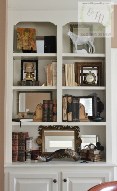 Brilliant Mirrored Bookcases
