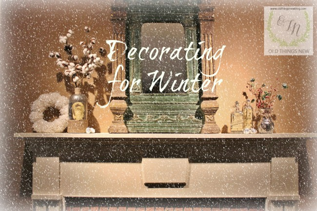 Some winter decor and our living room 010
