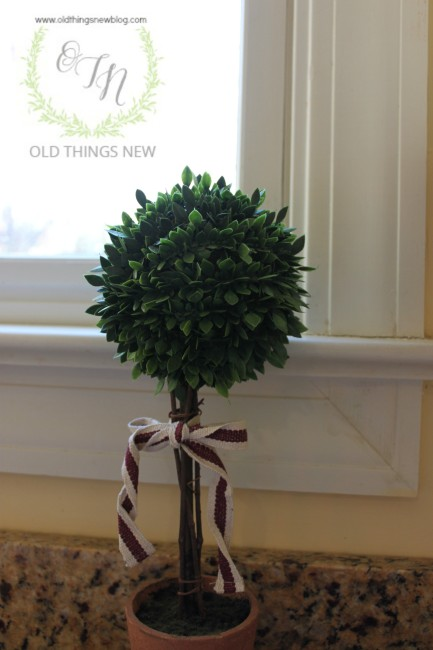 Boxwood Decor 003