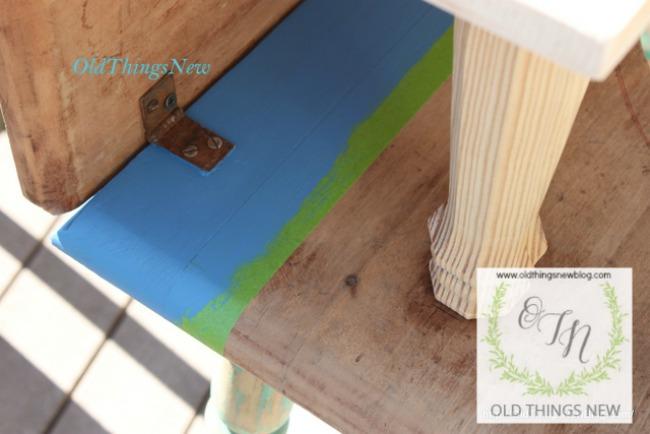 4-Drop Leaf Potting Bench 005
