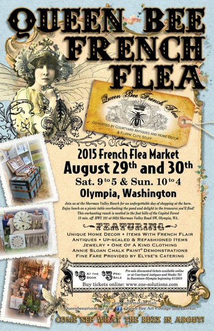 queen bee french flea 2015