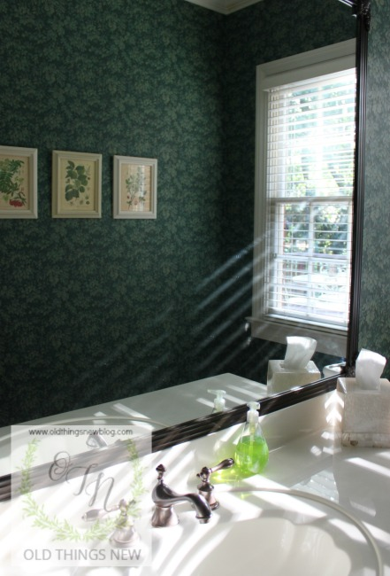 Botanical Powder Room