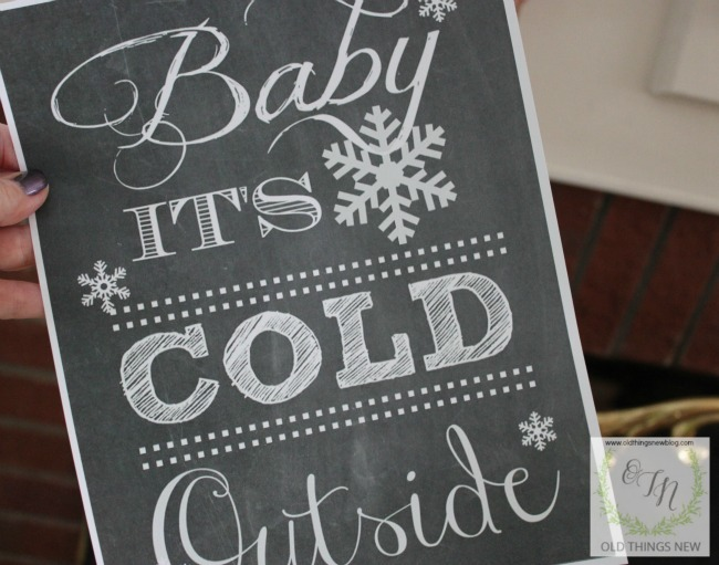 Baby it's Cold Bucket 005