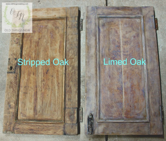 Before And After   Limed Oak