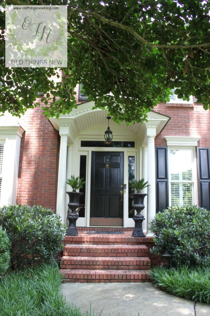 10 Steps To A Perfectly Painted Exterior Door Old Things New