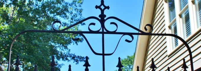 Building a Gate With Architectural Salvage