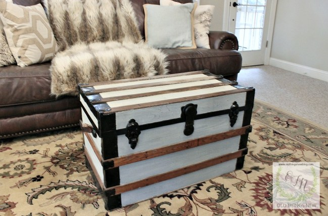 old trunk makeover