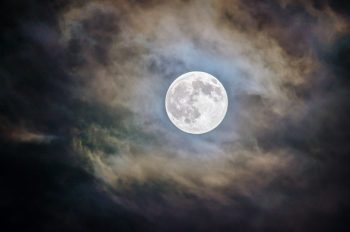 Photo of full moon by Ganapathy Kumar (Unsplash)