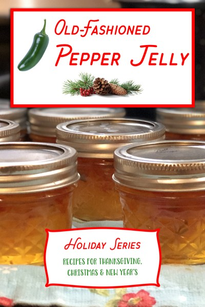 Old-Fashioned Hot Pepper Jelly