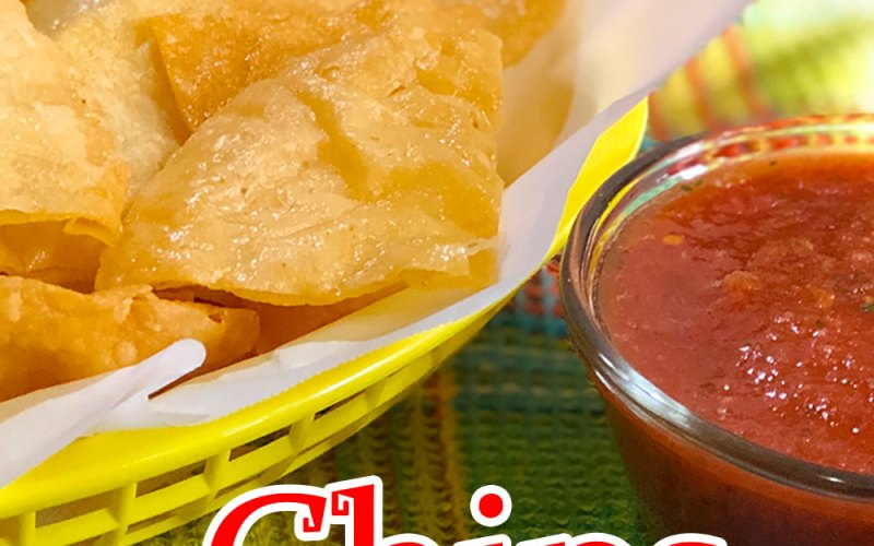 How to Make Restaurant Style Chips & Salsa