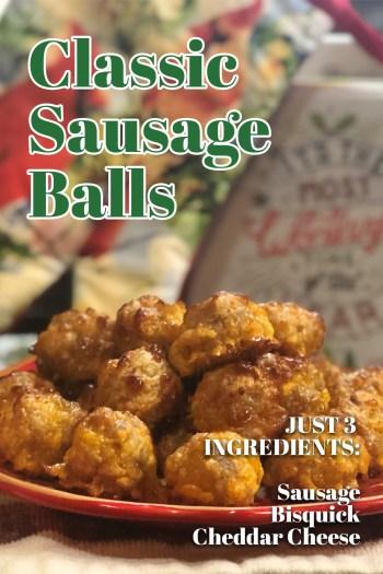 Classic Sausage Balls