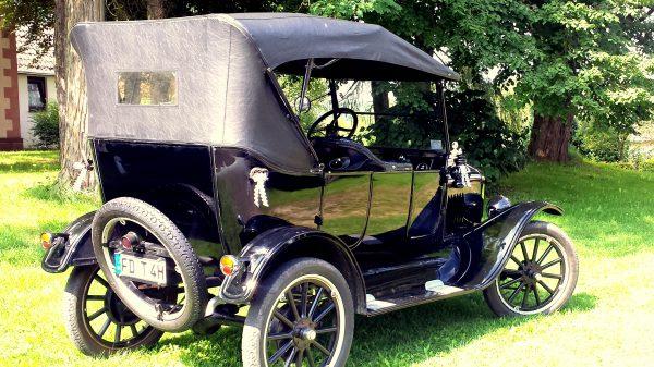 Ford Modell T Oldtimer mieten als Hochzeitsauto in Fulda und Deutschland