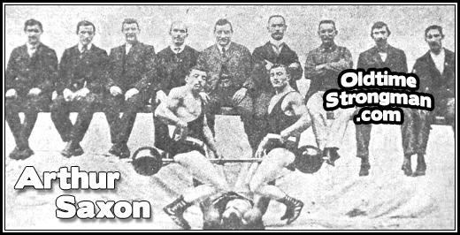 Saxon's Support - www oldtimestrongman com