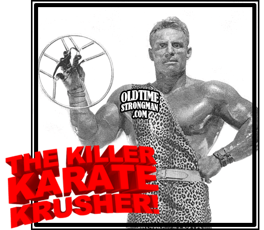Chuck Sipes Demosntrates 'The Killer Karate Krusher!'