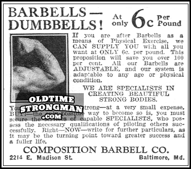 The Composition Barbell Company