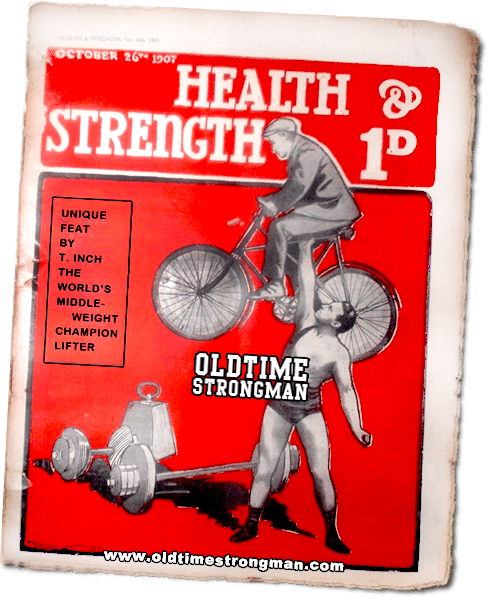 Health and Strength Magazine: October 26th, 1907