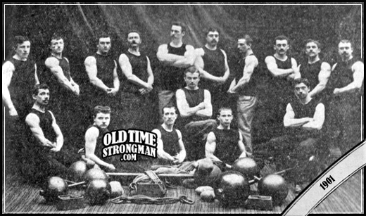 The Lille Athletic Club, 1901