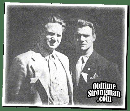 Mark Berry and John Grimek
