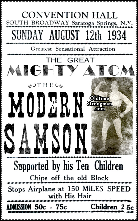 The Great Mighty Atom ~ The Modern Samson