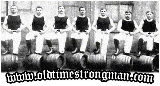 Barrel Lifting Strongmen